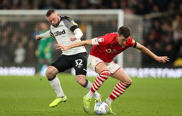 Wayne Rooney provides assist during debut as Derby County beat Barnsley - Bóng Đá