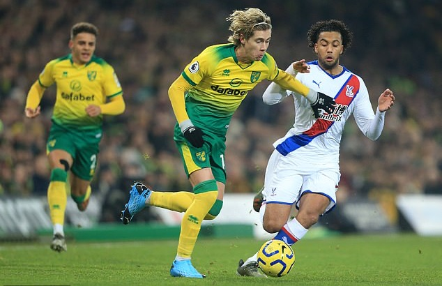 Manchester United join rivals City and Tottenham in race to sign Norwich midfielder Todd Cantwell - Bóng Đá
