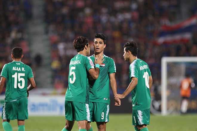 Lần đầu vào tứ kết, U23 Thái Lan vui như