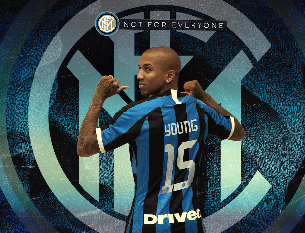 Số áo của Young tại Inter Milan - Bóng Đá