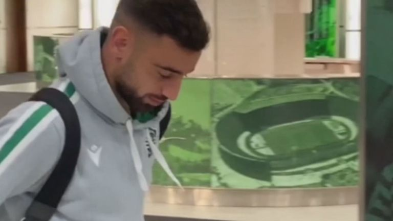 Bruno Fernandes says Sporting goodbyes ahead of Manchester United switch - Bóng Đá