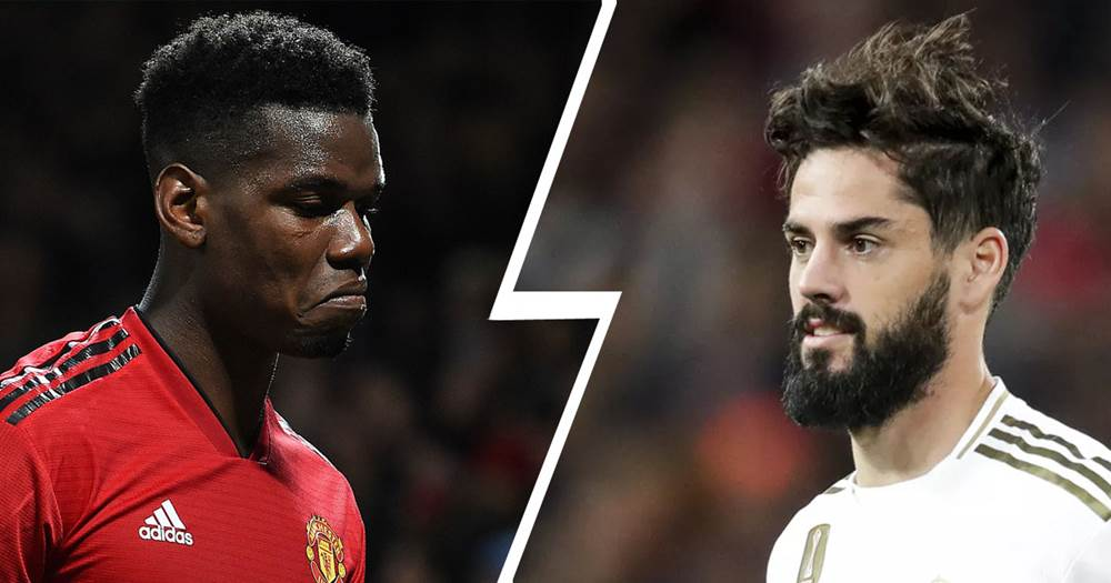 Man Utd to be offered Isco by Real Madrid in Paul Pogba transfer swap deal - Bóng Đá