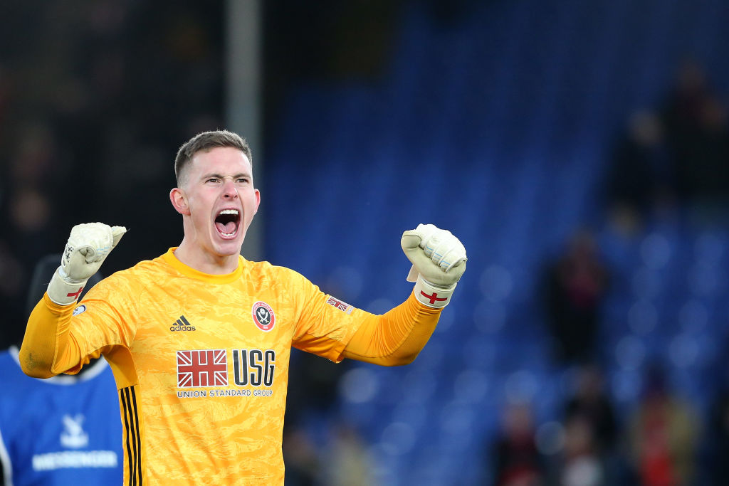Jose Mourinho wants to lure Manchester United star to Tottenham - Dean Henderson - Bóng Đá