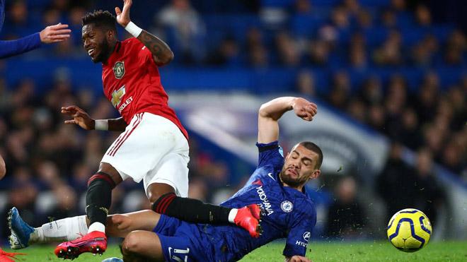 10 thống kê xoay quanh trận Chelsea 0-2 Man Utd - Bóng Đá