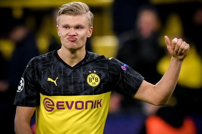 Erling Haaland sets multiple records in Borussia Dortmund's Champions League win over PSG - Bóng Đá