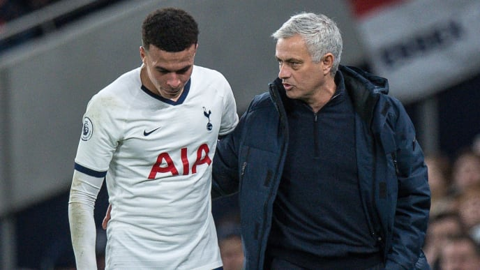 Jose Mourinho explains angry Dele Alli outburst during RB Leipzig defeat - Bóng Đá