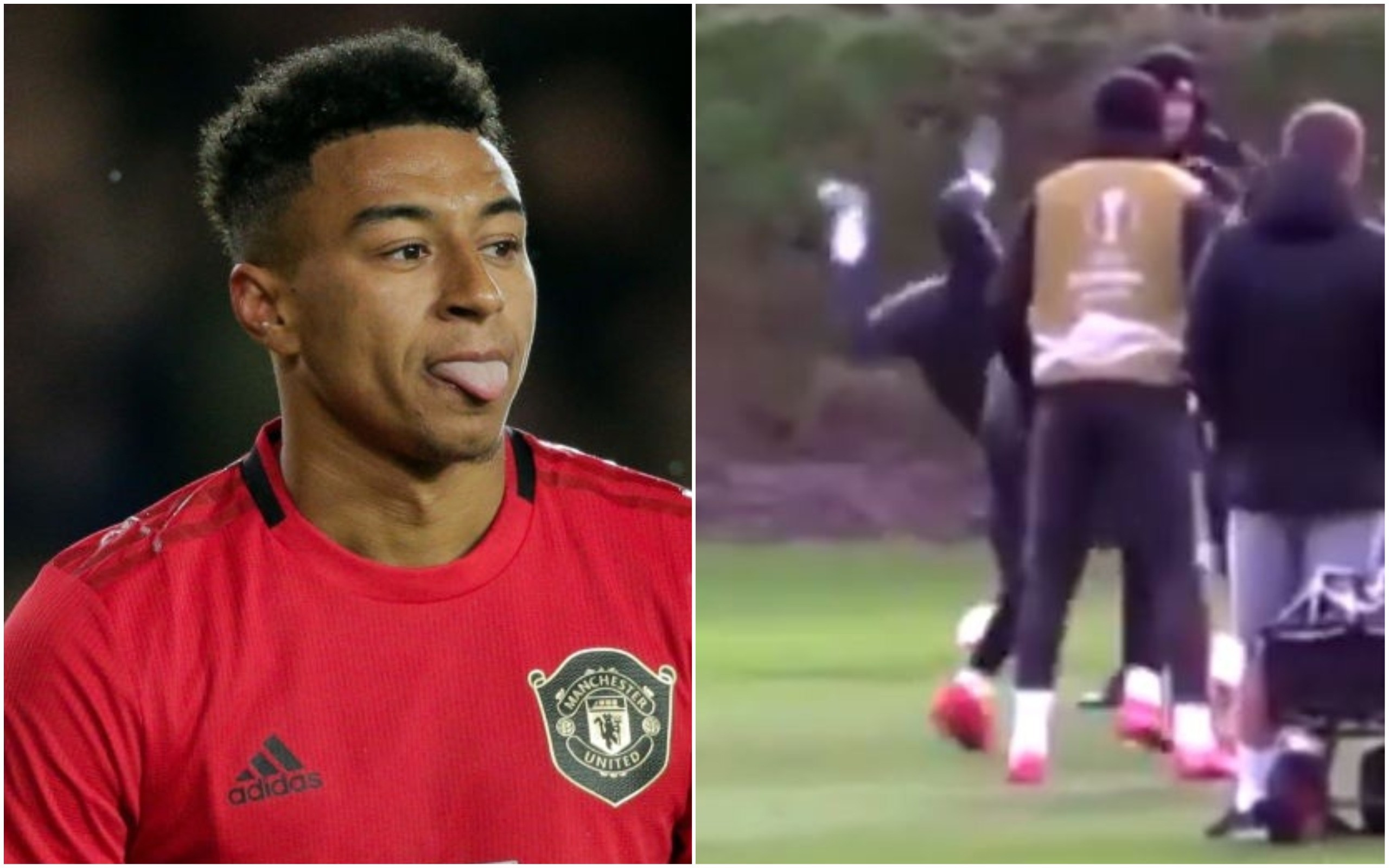 Manchester United fans slam Jesse Lingard for fooling around in training behind Ole Gunnar Solskjaer's back - Bóng Đá