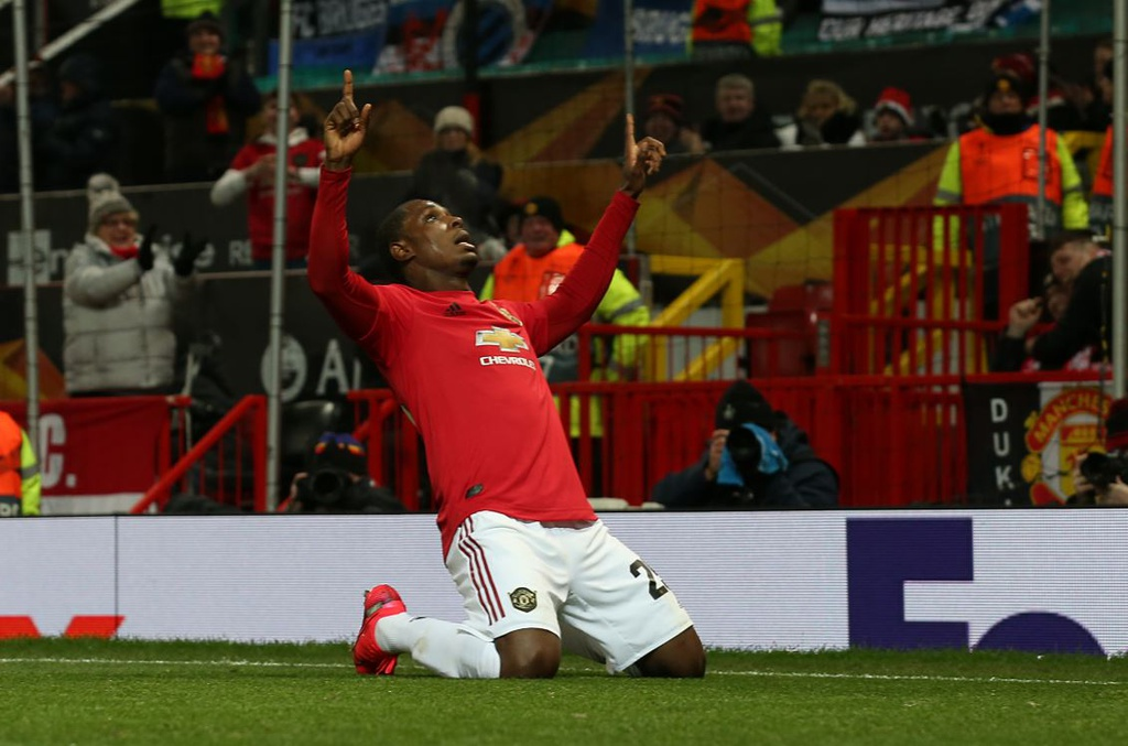 The tragic story behind Odion Ighalo's celebration after goal on full Manchester United debut - Bóng Đá