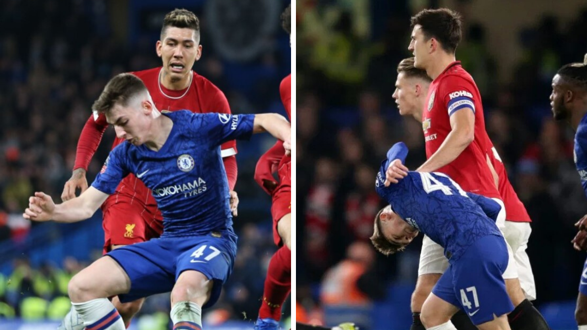 Chelsea kid Billy Gilmour reveals Harry Maguire grabbed him by the throat and 'was saying you're a wee guy' - Bóng Đá