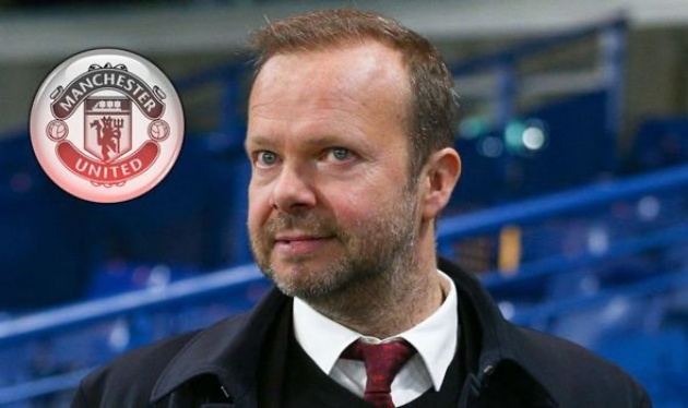 Man Utd chief Ed Woodward's top three transfer priorities for summer revealed - Bóng Đá