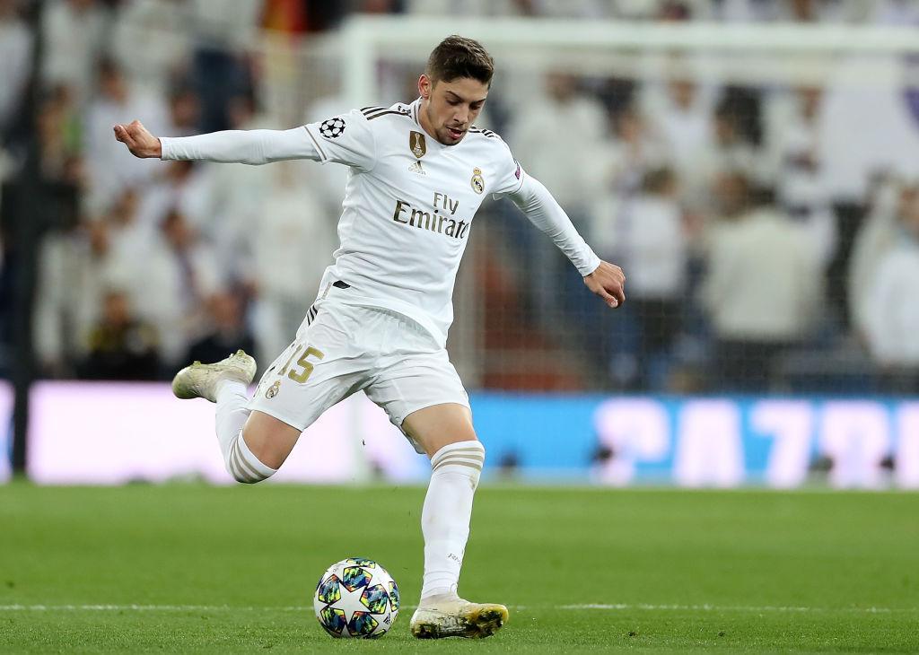 Valverde tops Ronaldo to become Real's fastest player - Bó.ng Đá.