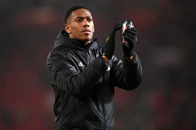 Solskjaer comments hint at new role for Anthony Martial at Manchester United - Bóng Đá
