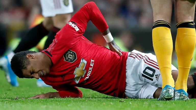 Marcus Rashford: Manchester United forward making progress after back injury - Bóng Đá