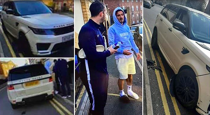 Aston Villa's Jack Grealish 'crashes his £80,000 Range Rover in 8am smash having spent the night at party'  - Bóng Đá