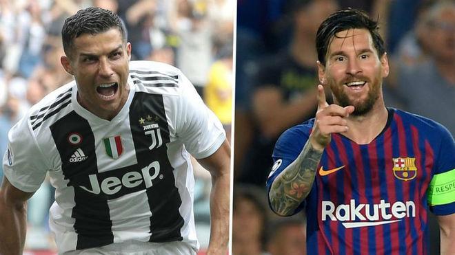 Ronaldo vượt Messi, thành cầu thủ hay nhất mọi thời đại - Bóng Đá