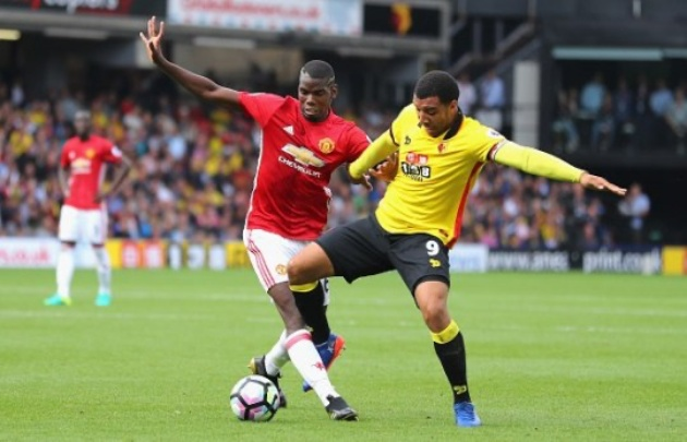 Troy Deeney says Manchester United can't attract players better than Paul Pogba - Bóng Đá