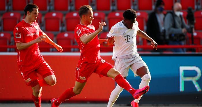 Bài ảnh sau trận Union Berlin - Bayern Munich - Bóng Đá