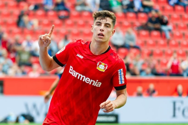 Kai Havertz told to forget Man United and become Marina Granovskaia's latest Chelsea signing - Bóng Đá