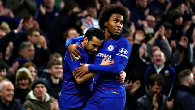 WILLIAN AND PEDRO SIGN NEW CHELSEA DEALS - Bóng Đá