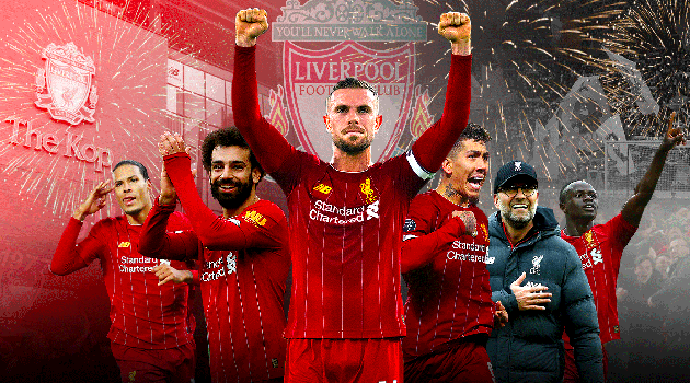 Chân dung nhà vô địch Premier League mùa giải 2019/20.