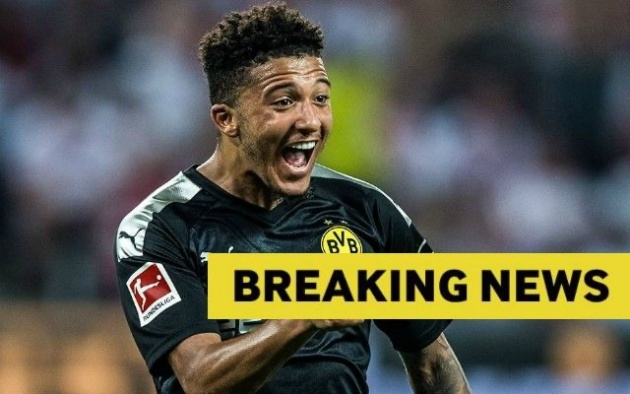 Personal terms agreed: Manchester United make progress on Jadon Sancho transfer - Bóng Đá