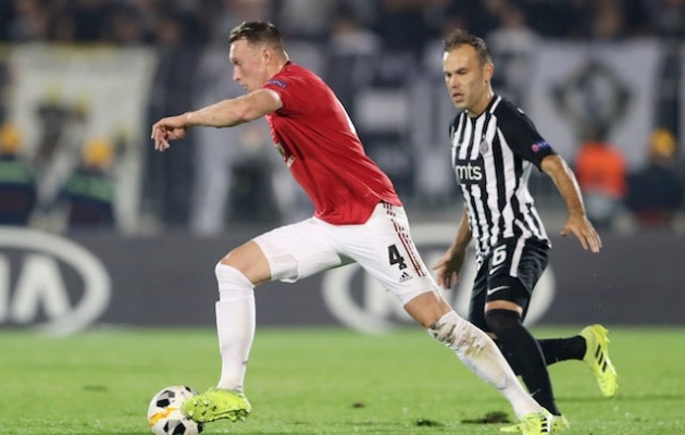 Manchester United defender Phil Jones attracting interest from Italy? - Bóng Đá