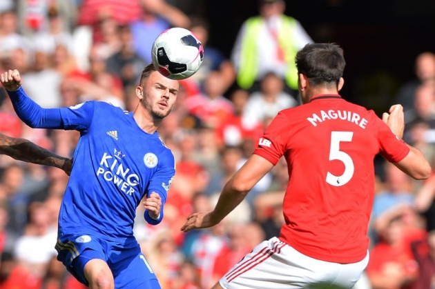 Manchester United and Leicester City could finish inside top four and still miss out on Champions League football - Bóng Đá