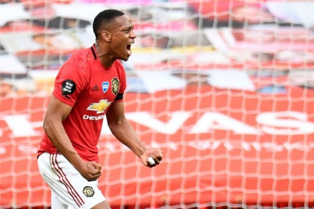 Man Utd boss Ole Gunnar Solskjaer identifies major change Anthony Martial has made - Bóng Đá