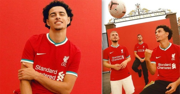 Liverpool unveil first-ever Nike home jersey - Bóng Đá
