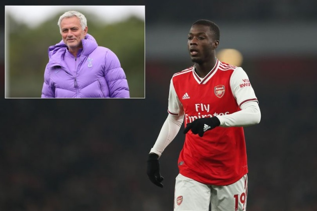 Jose Mourinho proven right about Nicolas Pepe 12 months on from Arsenal transfer - Bóng Đá
