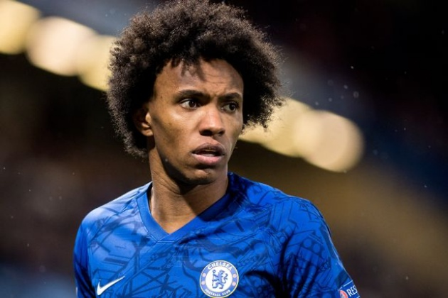 Willian could get dream shirt number at Arsenal as Gunners push to complete sale - Bóng Đá