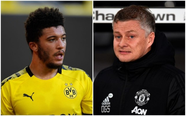 Ole Gunnar Solskjaer tells Jadon Sancho that Manchester United move is close - Bóng Đá