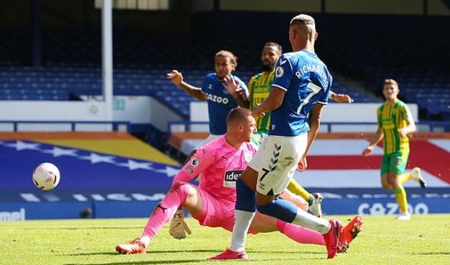 James Rodriguez lập siêu phẩm ghi bàn lẫn kiến tạo, Everton đè bẹp đối thủ 5 bàn - Bóng Đá
