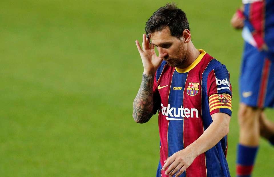 Barcelona's Lionel Messi looked miserable after their Joan Gamper Trophy win - Bóng Đá