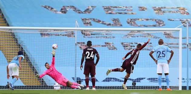 TRỰC TIẾP Man City 1-1 Leicester City (H1): Sai lầm tai hại dẫn tới penalty - Bóng Đá
