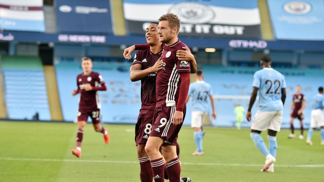 Jamie Vardy has scored eight league goals against Pep Guardiola's Manchester City - - Bóng Đá