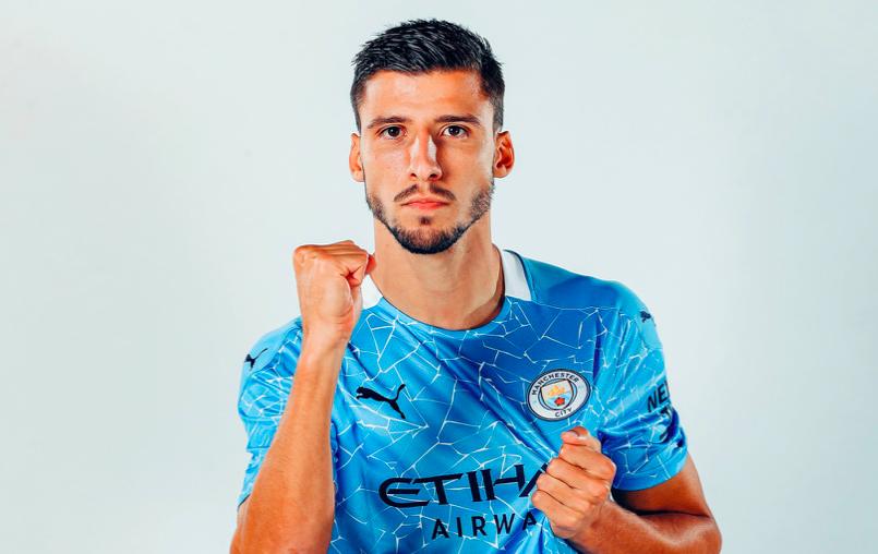 Ruben Dias squad number at Man City - Bóng Đá