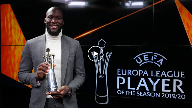 ROMELU LUKAKU IS THE EUROPA LEAGUE PLAYER OF THE SEASON 19/20 - Bóng Đá