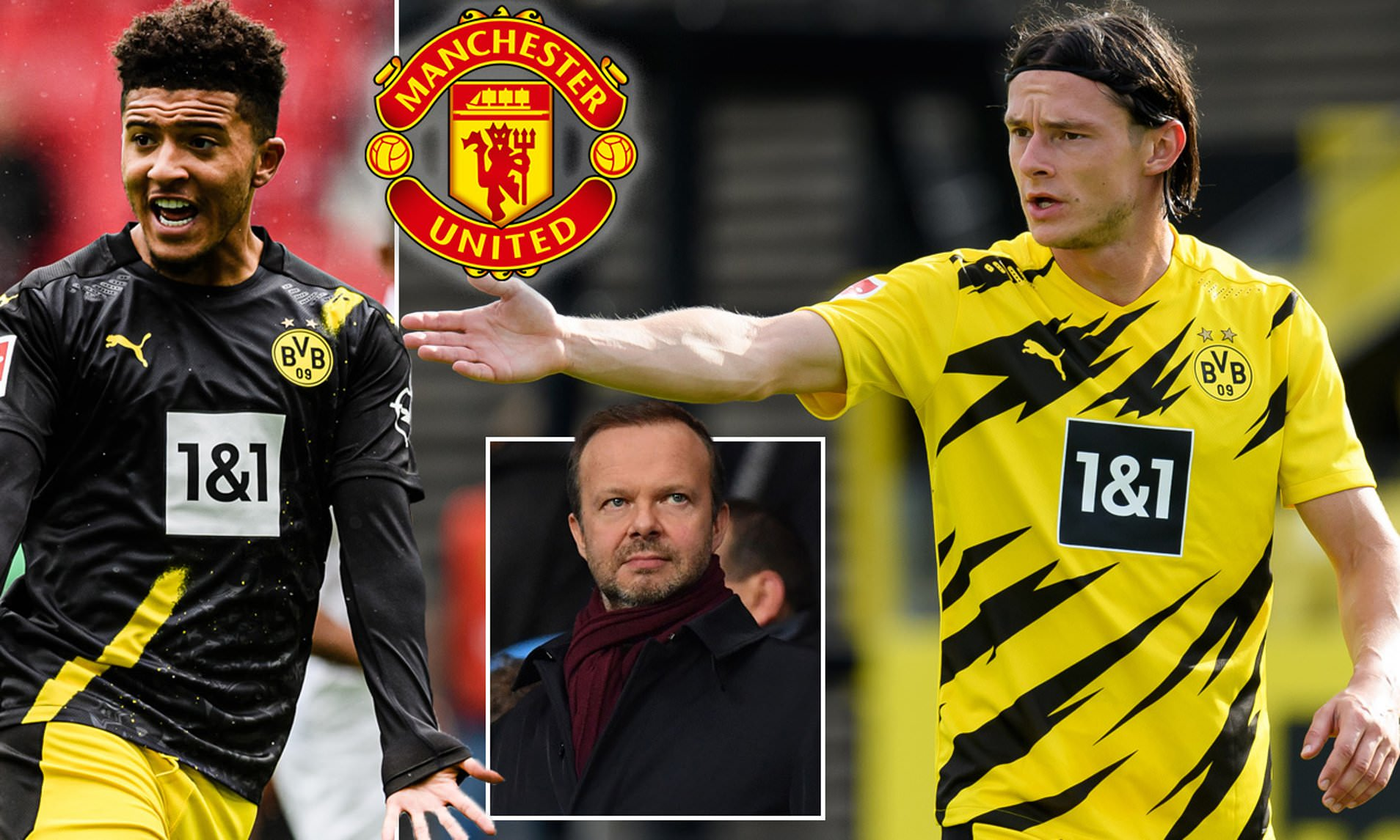 Borussia Dortmund 'left baffled by Manchester United on deadline day after they make a last-gasp swoop for fringe player Nico Schulz' - Bóng Đá