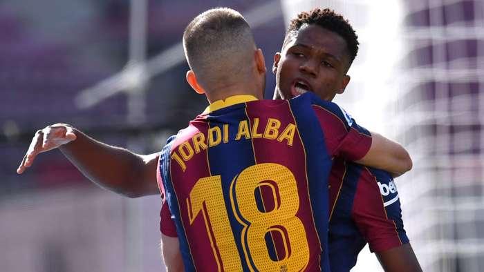 Ansu Fati becomes youngest scorer in El Clasico history - Bóng Đá