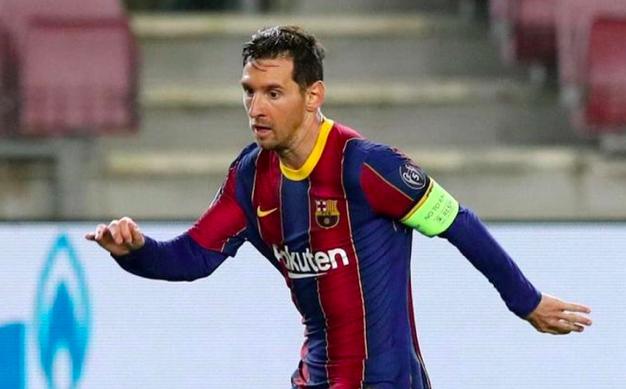 Choáng với thời gian Messi