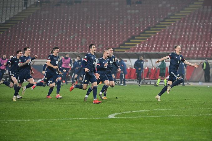 Scotland vượt qua cánh cửa hẹp giành vé dự EURO 2020.