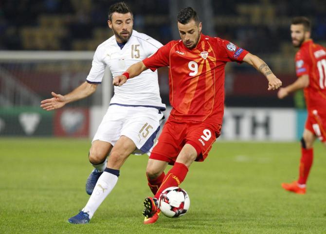Kết quả hình ảnh cho bóng đá nước  Macedonia
