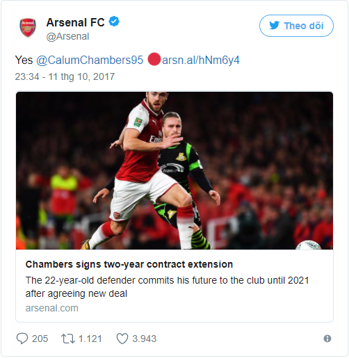Arsenal giữ chân thành công tài năng trẻ - Bóng Đá