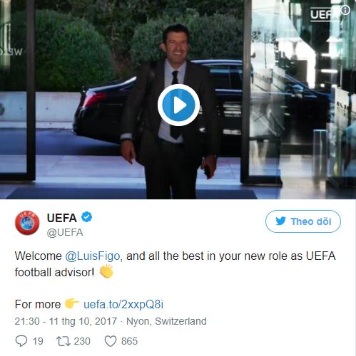 CHÍNH THỨC: Cựu sao Barca và Real trở thành cố vấn cho UEFA - Bóng Đá
