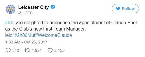 NÓNG: Leicester bổ nhiệm Tân thuyền trưởng  - Bóng Đá