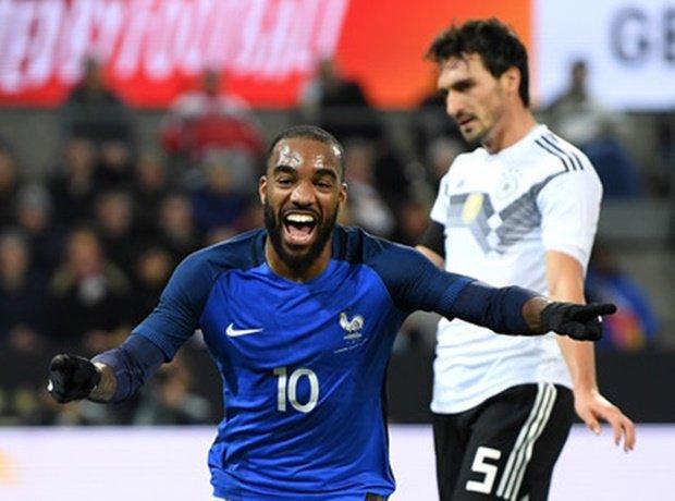 Đức-Pháp níu chân phút chót, Anh-Brazil bất phân thắng bại - Bóng Đá
