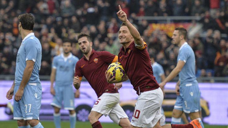 AS Roma có gì khác khi không còn Totti ở Derby della Capitale? - Bóng Đá