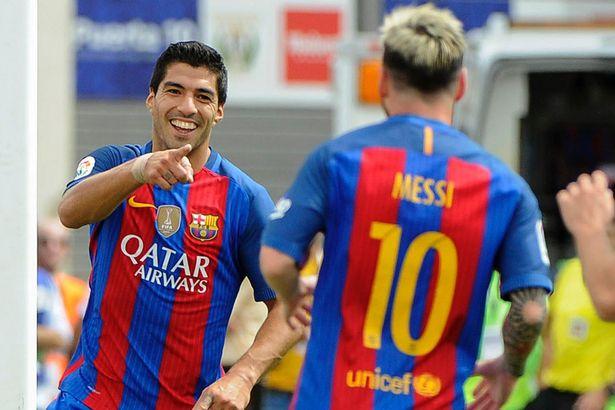 Suarez thông nòng, Barca lập thêm kỉ lục