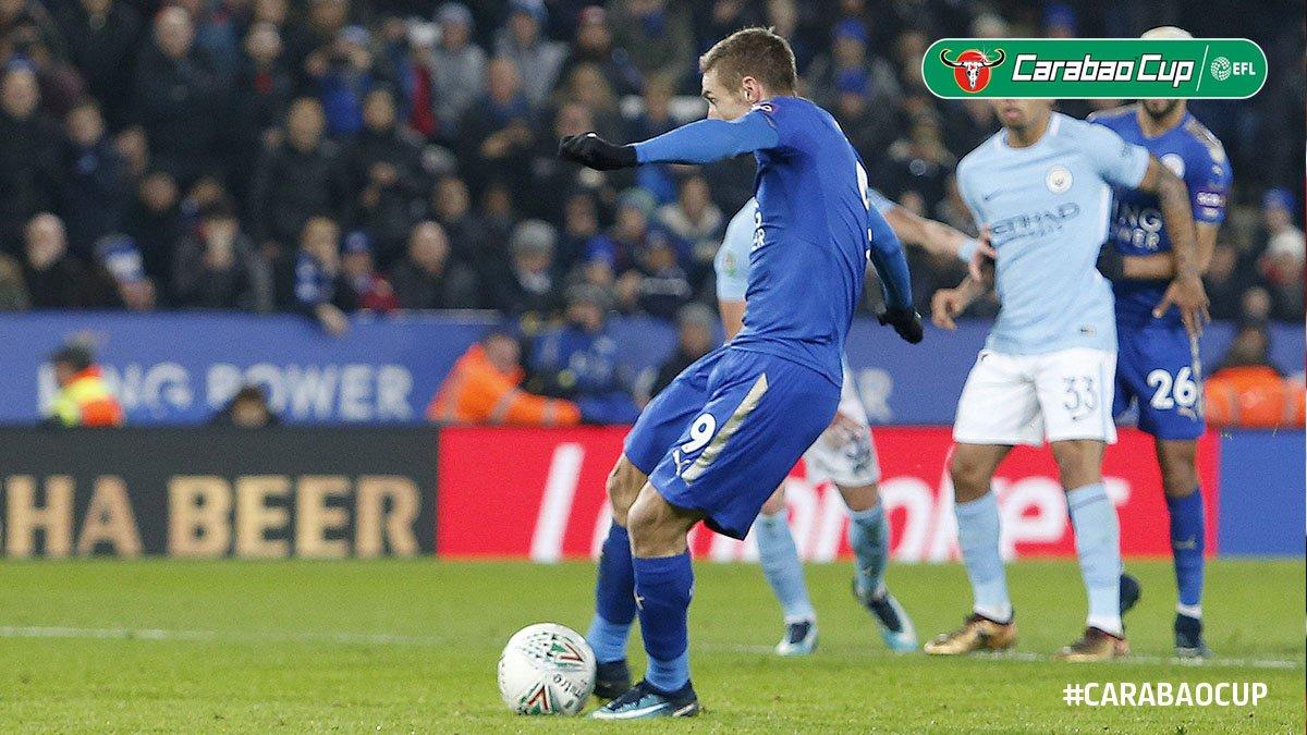 5 điểm nhấn Man City 1-1 (4-3 penalty) Leicester: Vardy đóng vai